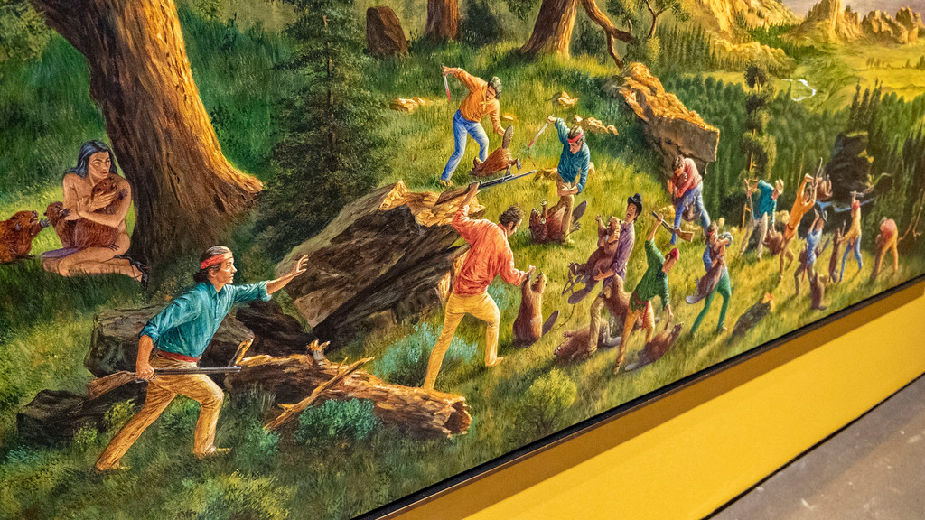 Museum London: Kent Monkman, Shame and Prejudice: A Story of Resilience