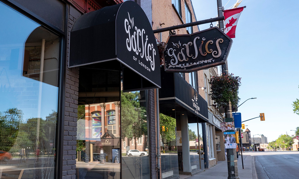 Vegan Restaurants in London Ontario: Garlic's of London