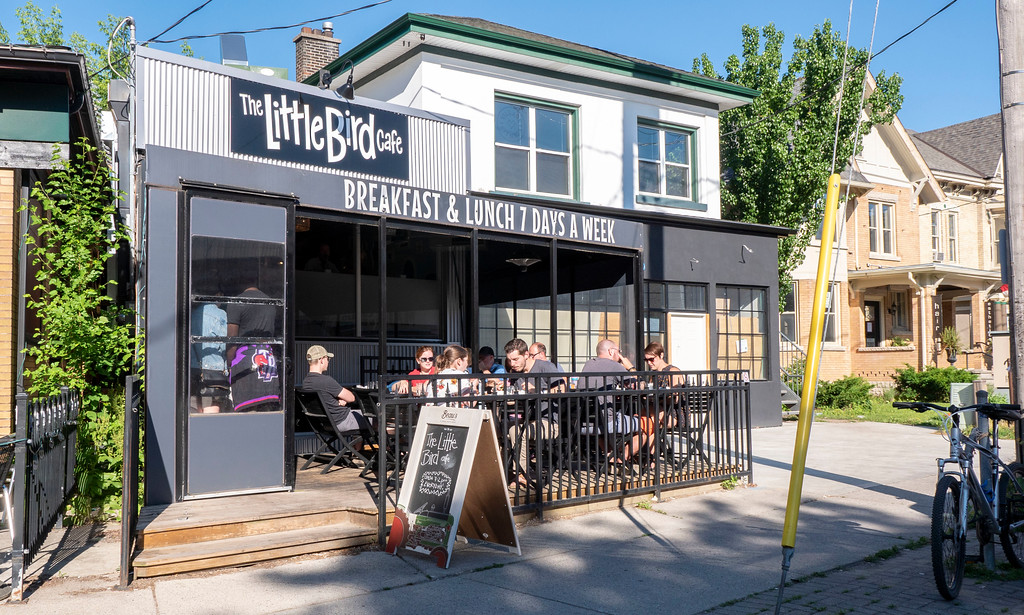 Vegan Restaurants in London Ontario: The Little Bird Cafe