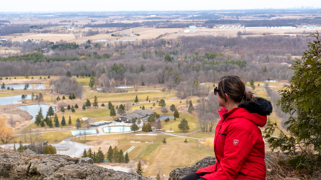 Scenery and views at Mount Nemo Conservation Area