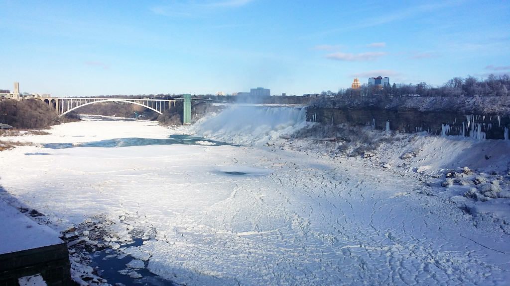 Niagara Falls Ontario January
