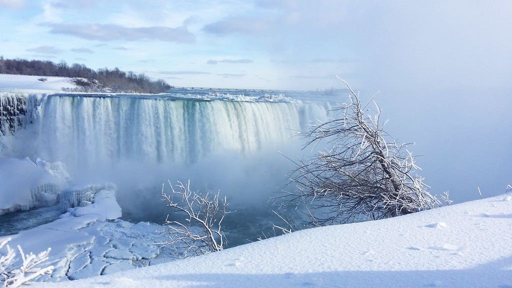 Niagara Falls in January
