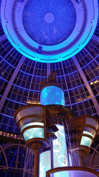 Fountain at Fallsview Casino