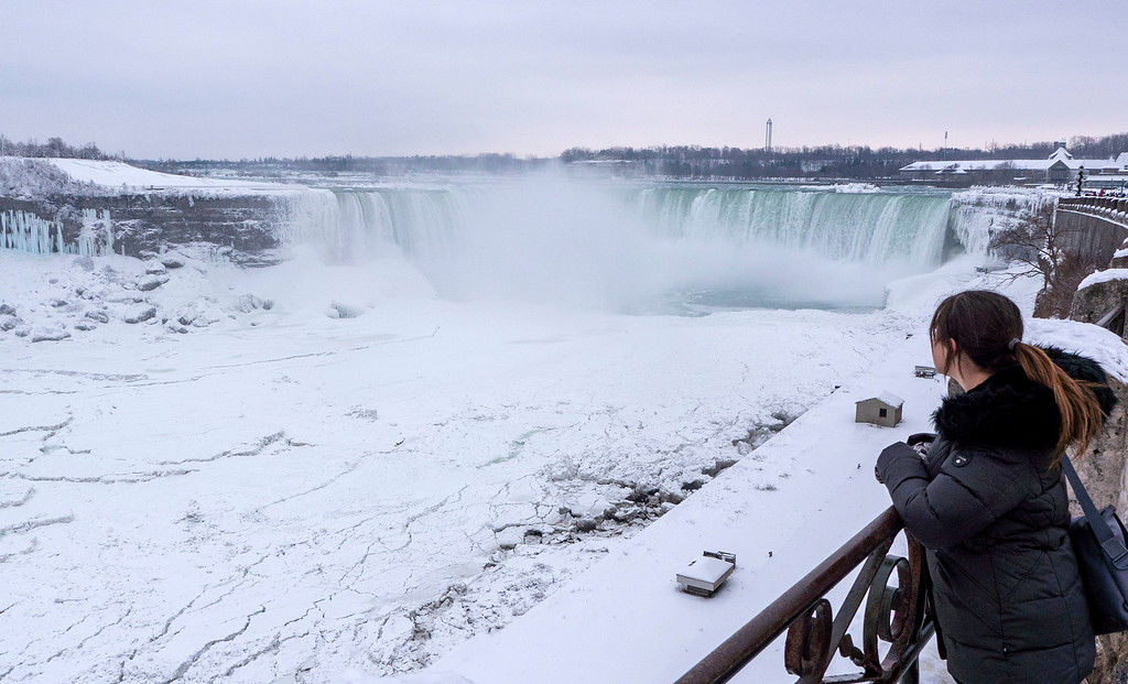 Niagara Falls in the winter - How I afford to travel so much