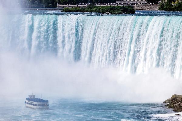 Boat Tour in Niagara Falls, Ontario, Canada