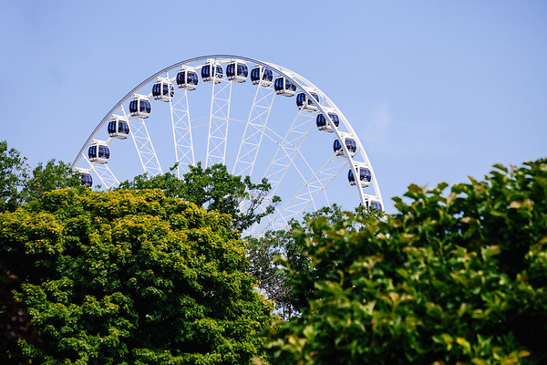 Ferris Wheel on Clifton Hill in Niagara Falls