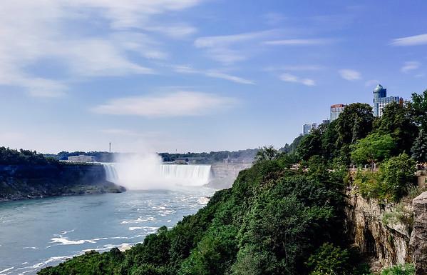 Niagara Falls in Ontario, Canada