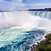 The Horseshoe Falls in Niagara Falls