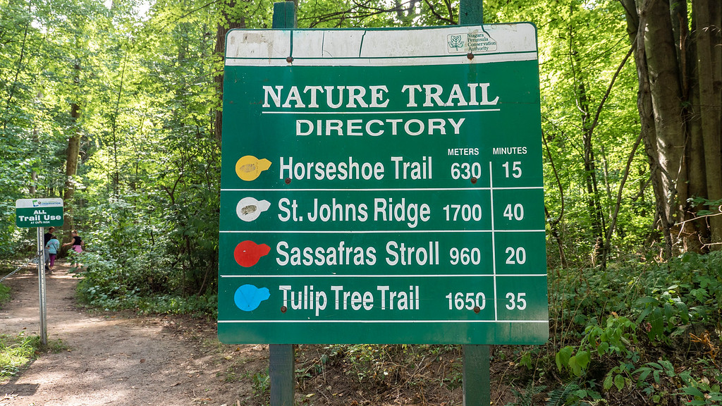 St Johns Conservation Area hiking trails
