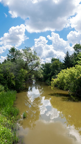 East Holland River in East Gwillimbury