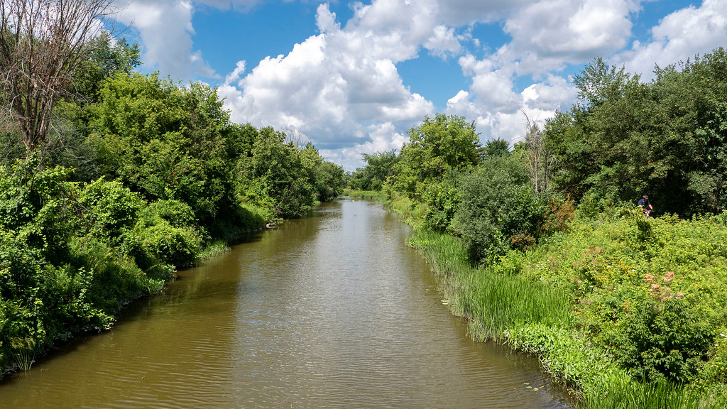 East Holland River in East Gwillimbury on the Nokiidaa Trail