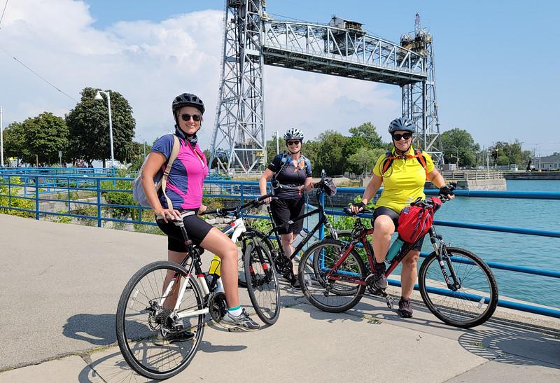 Ontario By Bike riders
