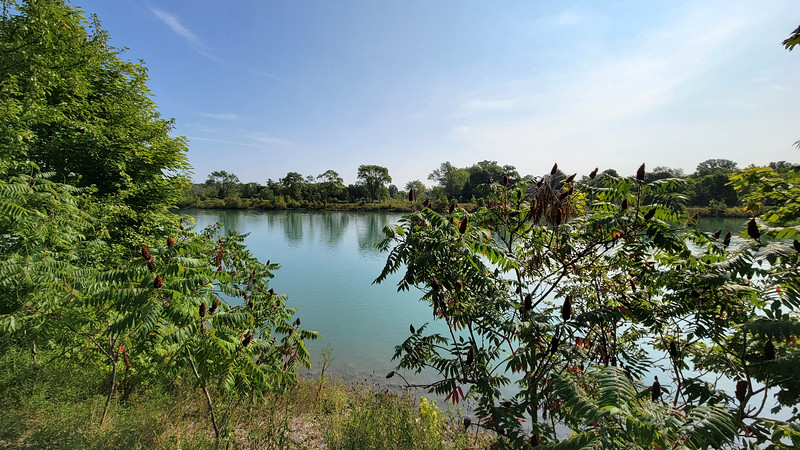 Welland River in Thorold