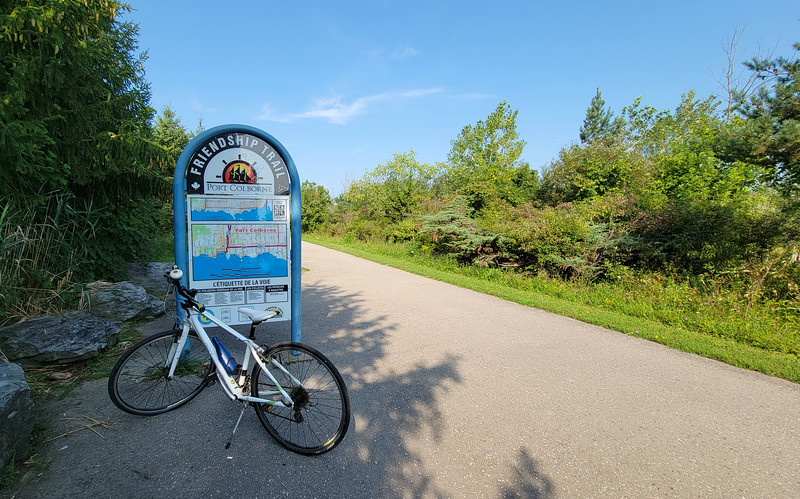 Friendship Trail from Fort Erie to Port Colborne