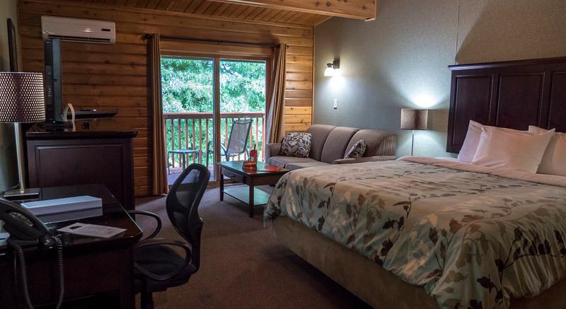 My suite at Oakwood Resort in Grand Bend, Ontario, Canada. Ontario's Blue Coast.
