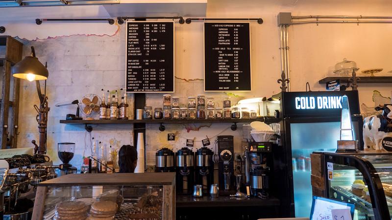 Blackwater Coffee Co, Sarnia, Ontario, Canada.