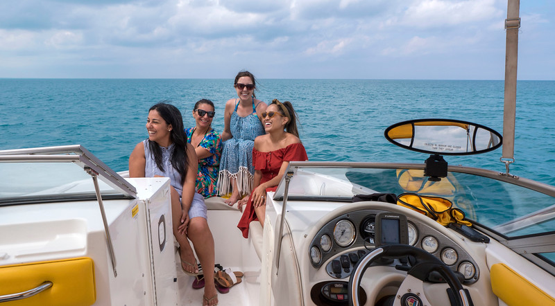 Xtreme Watersports in Grand Bend, Ontario, Canada. Go for a boat ride on Ontario's Blue Coast.