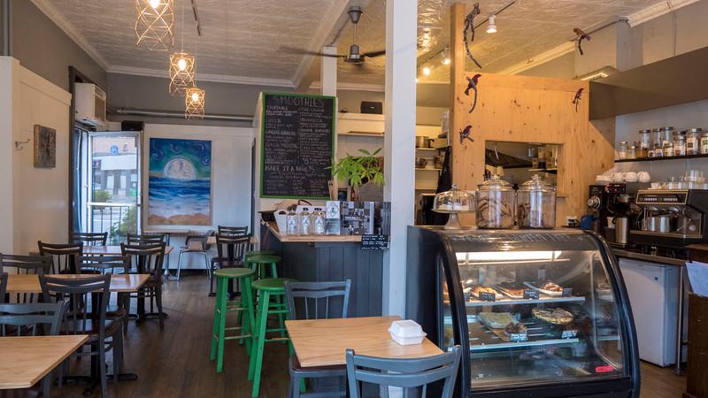 Greens Organic Cafe in Sarnia, Ontario. Vegan restaurant in Sarnia.