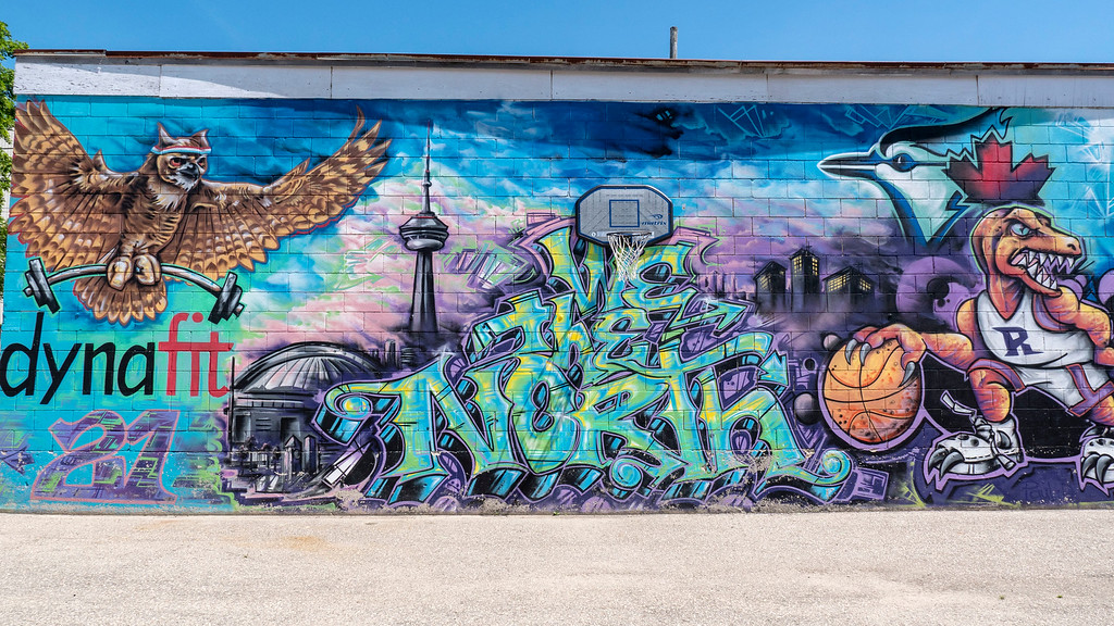 Street art and murals in Listowel Ontario - Things to do in Perth County