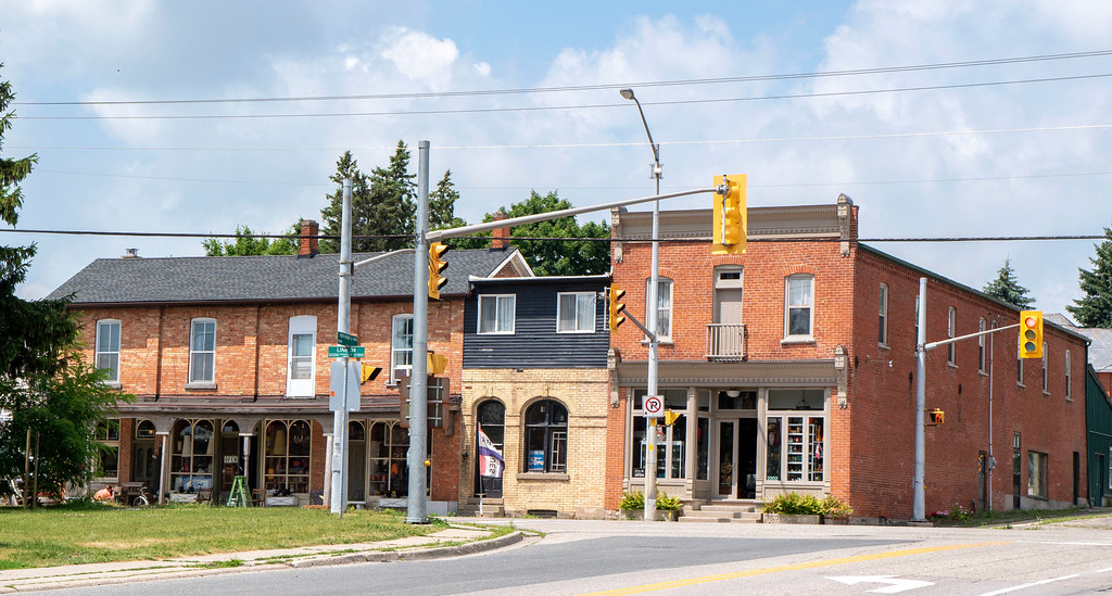 The town of Shakespeare in Perth County, Ontario