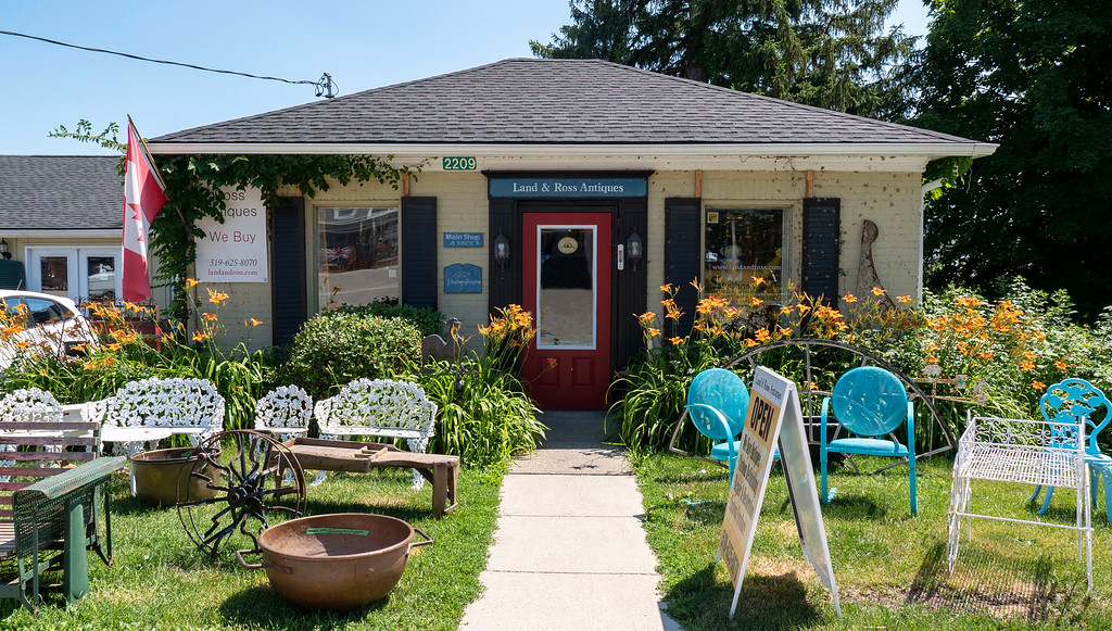 Places to Visit in Southern Ontario: Land and Ross Antiques in Shakespeare