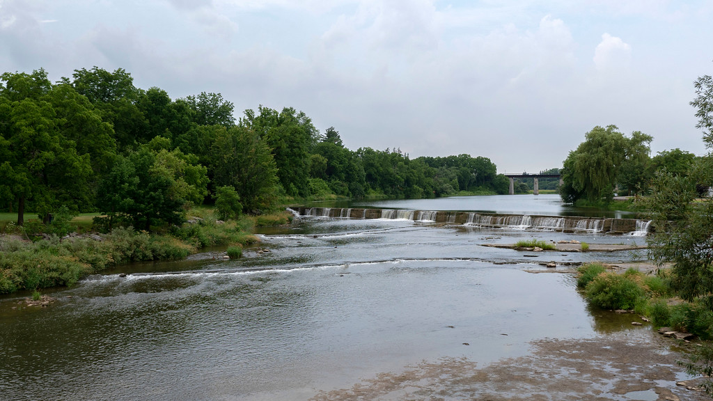Thames River in St. Mary's, Ontario