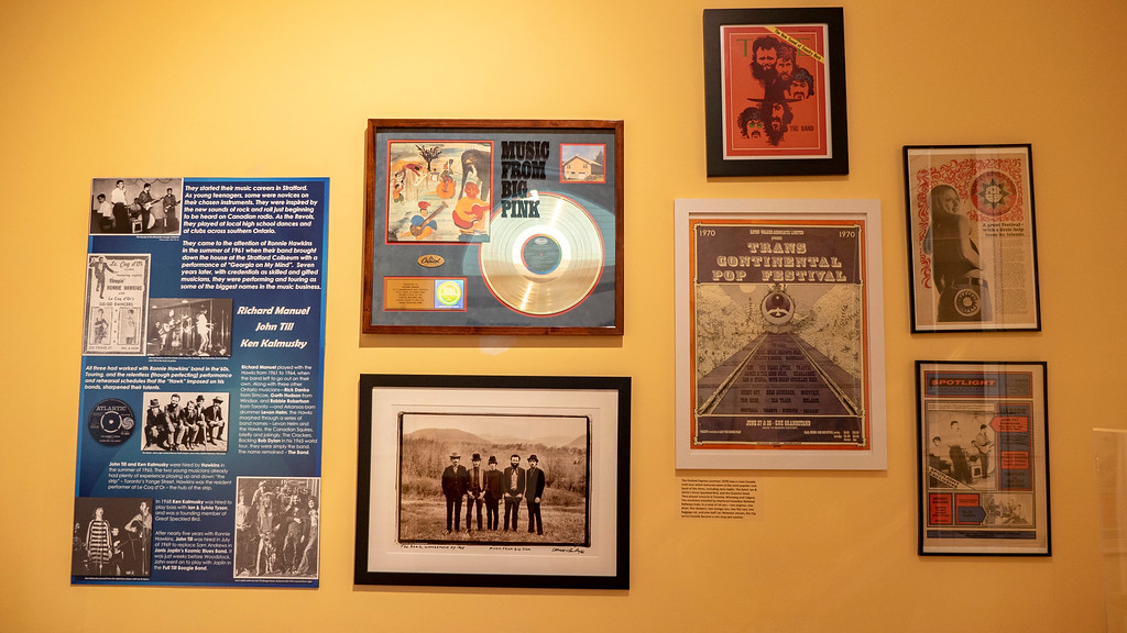The Stratford Perth Museum: Woodstock Music Festival Exhibit