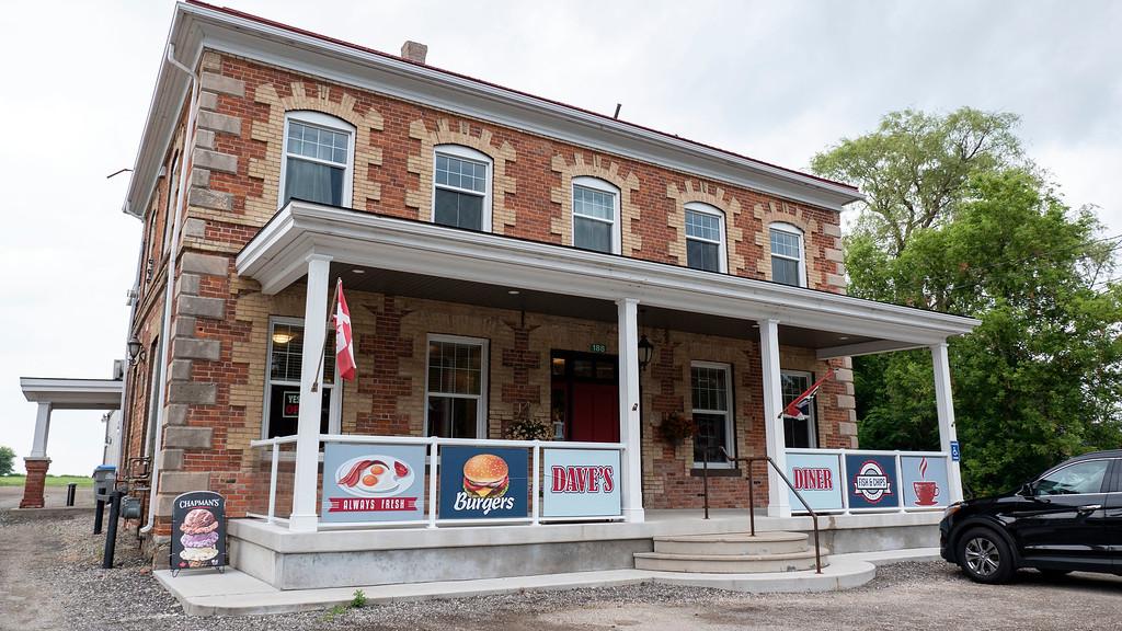 Dave's Diner in Sebringville, Perth County Ontario
