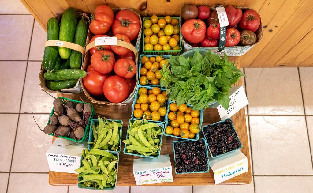 Organic Oasis Farm Store in Perth County Ontario