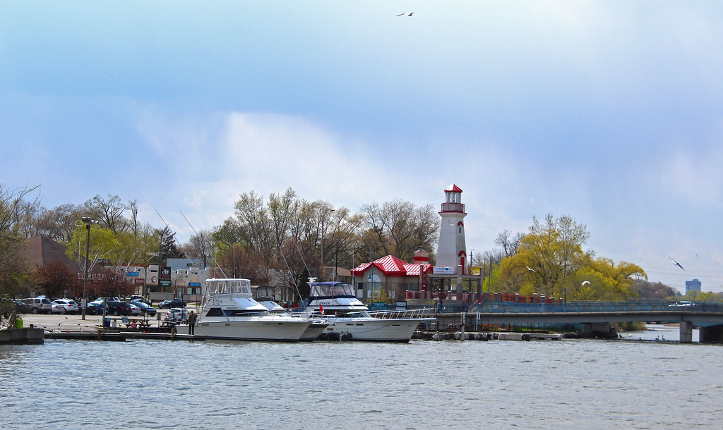 Port Credit Marina and Lighthouse