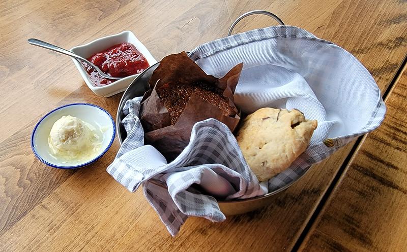 Breakfast at the Windjammer Inn
