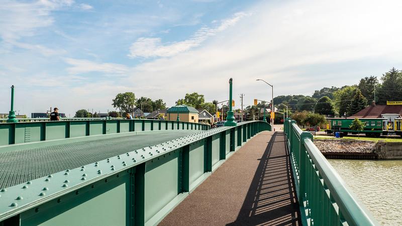 Port Stanley King George VI Lift Bridge