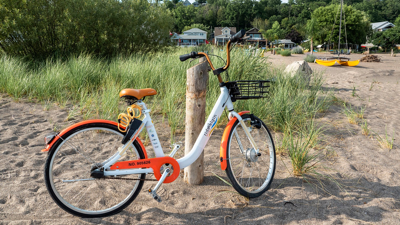 Rent a bike with Ride Elgin