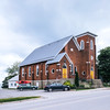 Church in the village of Wellington in Prince Edward County, Ontario.