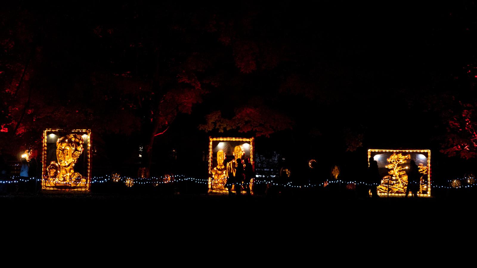 Pumpkinferno: Pumpkin Lantern Festival at Upper Canada Village, Ontario