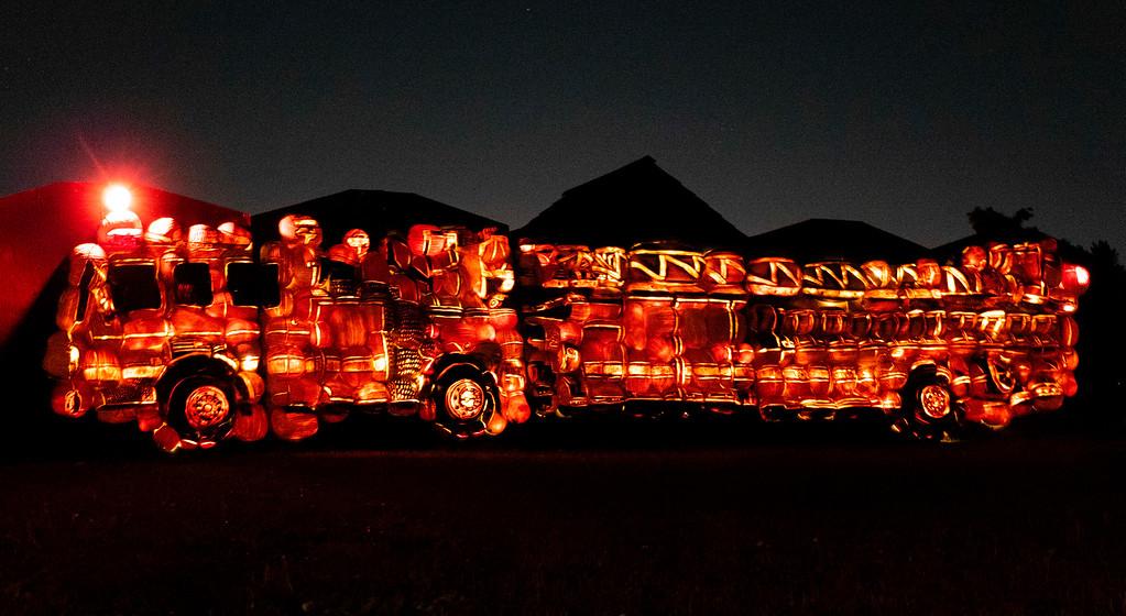 Pumpkin lantern festival in Ontario