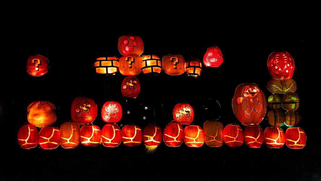 Pumpkins After Dark - Pumpkin festival Toronto - Milton Pumpkin festival