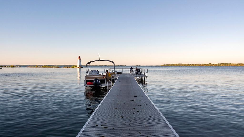 Dock on Lake Simcoe