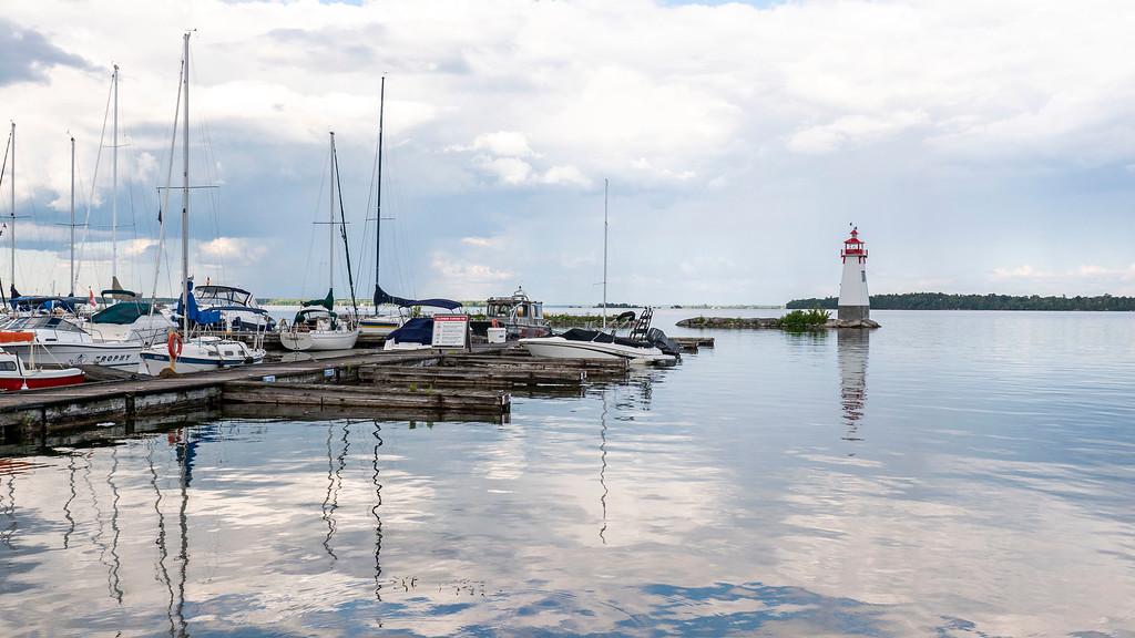 Little lighthouse on Lake Simcoe