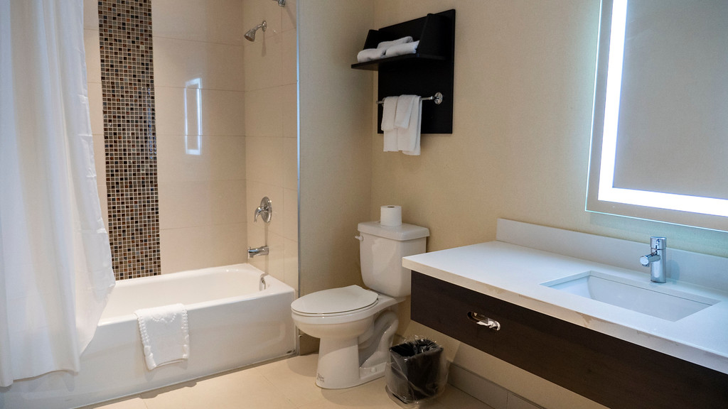 Bathroom at Ramada Jacksons Point