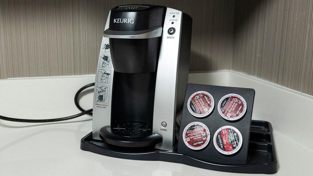 Hotel Keurig coffee maker