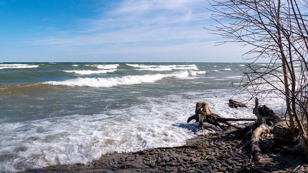 Lake Ontario - Shingle Bar - Barrier Beach