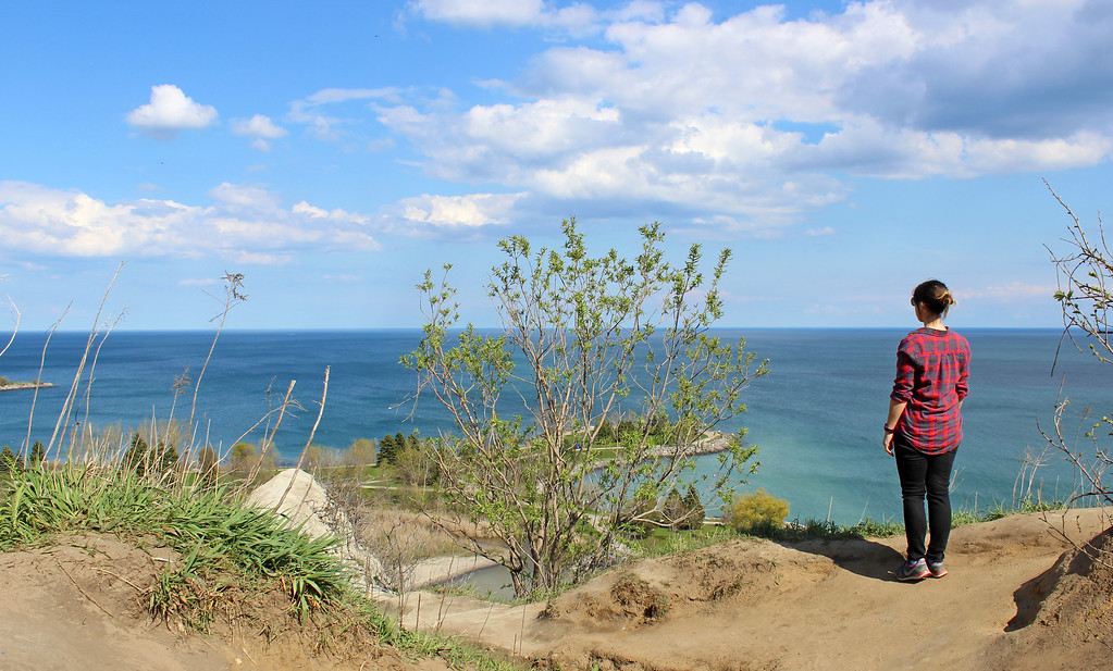 Scarborough Bluffs Lookout at Scarborough Crescent Park, Toronto