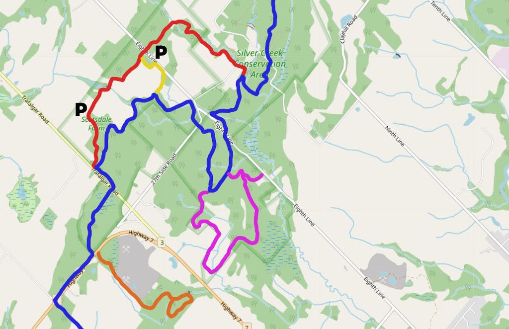 Scotsdale Farm Trail Map