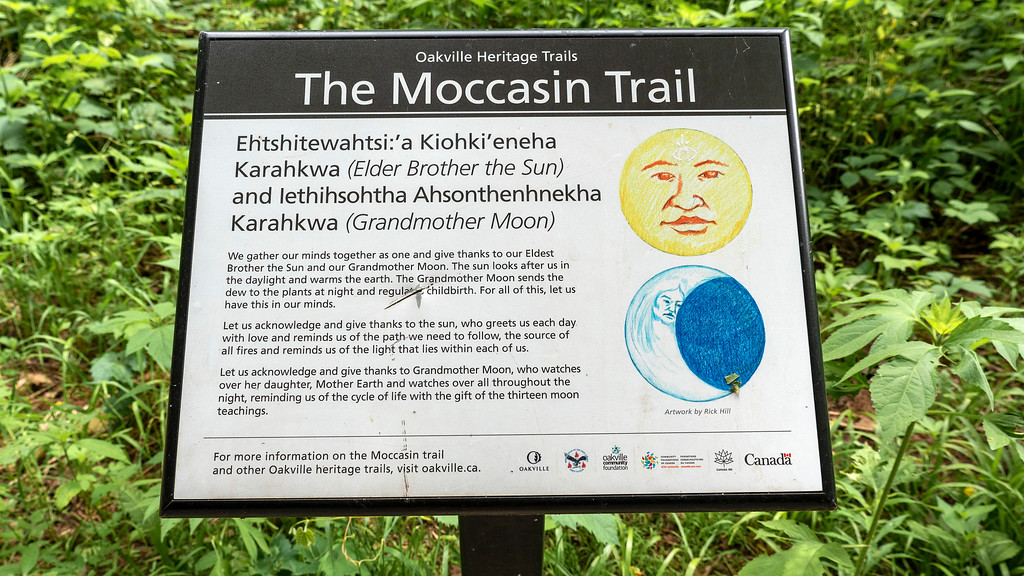 The Moccasin Trail - Heritage trails in Oakville