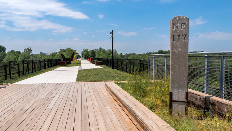 St Thomas Elevated Park - Walking trails in St Thomas Ontario
