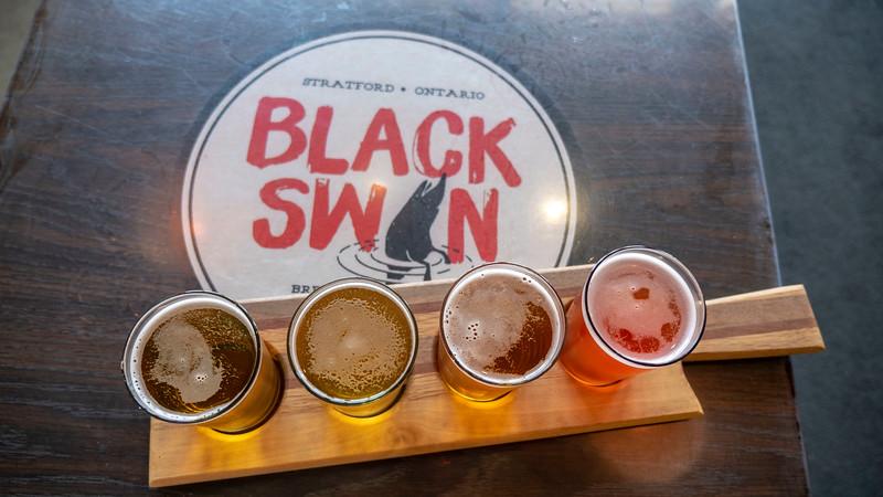 Black Swan Brewing Company in Stratford Ontario