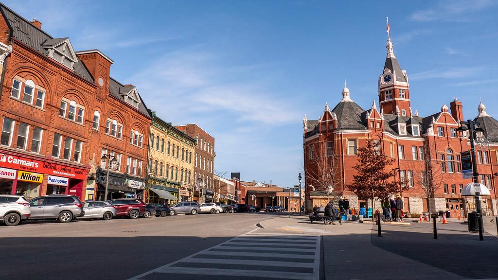 Downtown Stratford Ontario