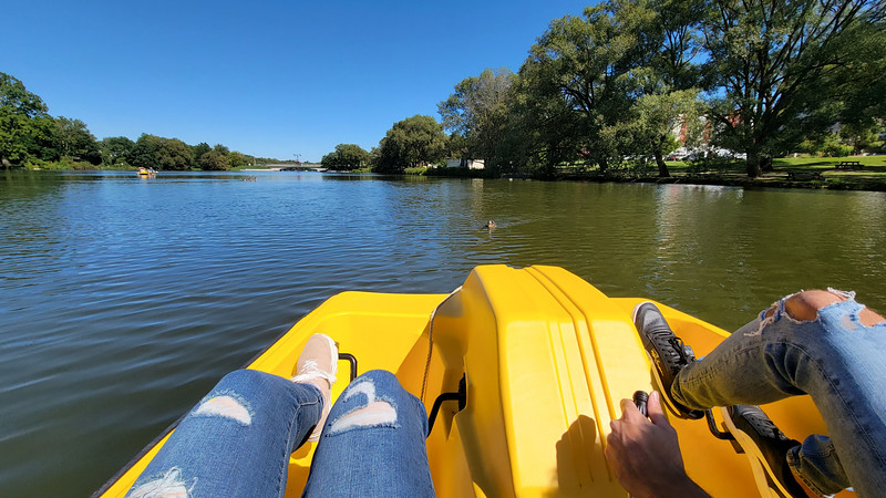 Paddle Boating in Stratford