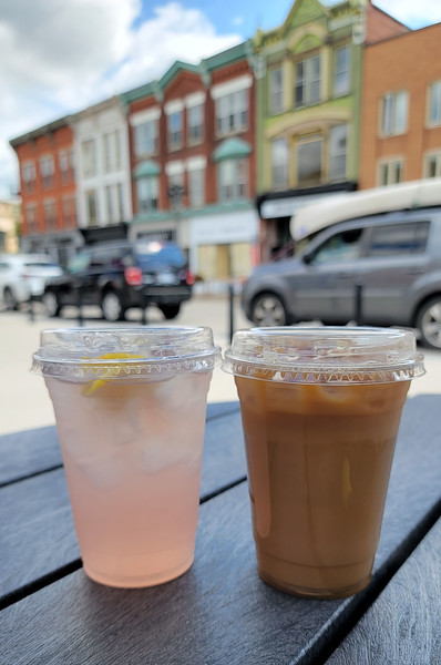 Drinks from the Alley Cat Cafe